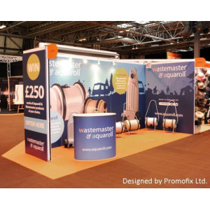 Exhibition Stand Design West Midlands : Printed panels for trade show displays shropshire west midlands