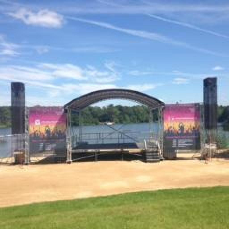 Spectacular PVC Mesh Banners at Trentham Gardens