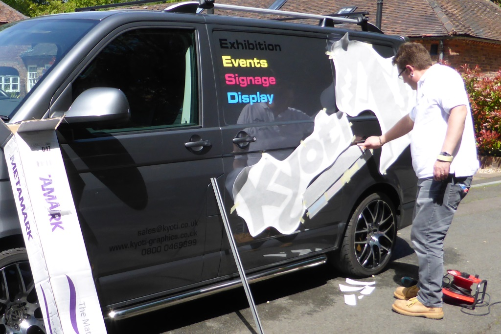 Kyoti van vehicle graphics stage 3