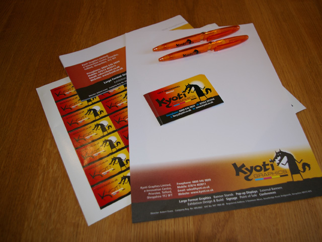 Stationery and Leaflets