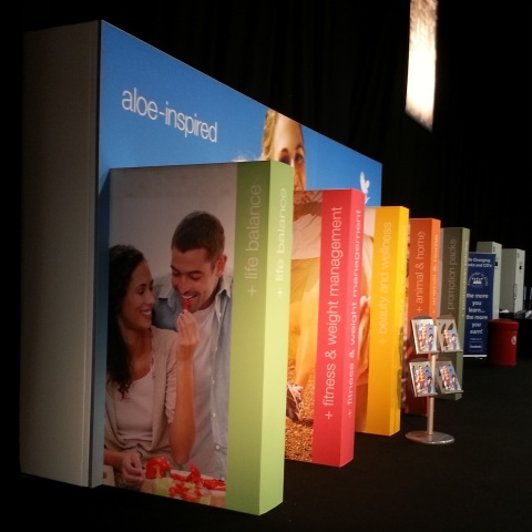 PSS FLP Exhibition Tension Fabric Display