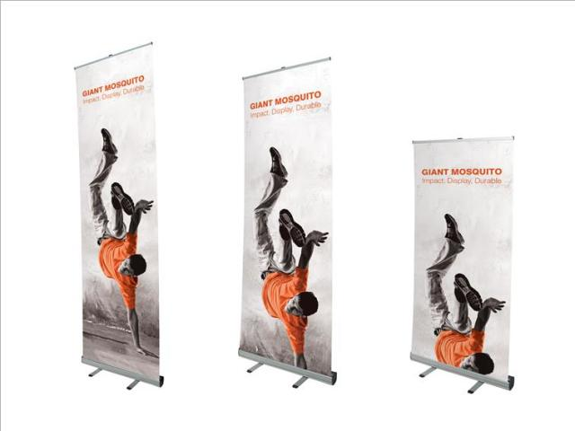 Giant Mosquito Roll Up Banner