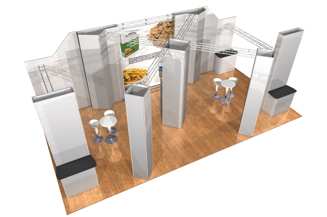 Modular Exhibition Stands Election : Modular exhibition stands kyoti graphics