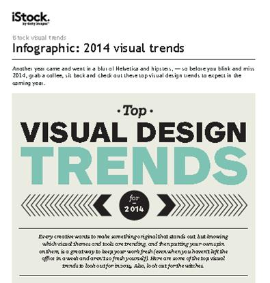 2014 Visual Design Trends