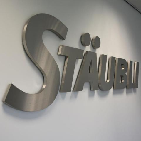 Staubli Reception Sign