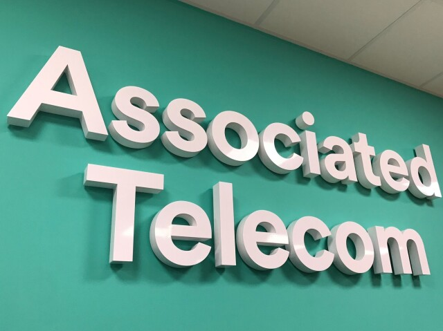 Associated Telecom Built Up Letters for Signs