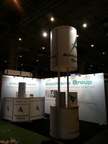 Anochrome Exhibition Tension Fabric Display