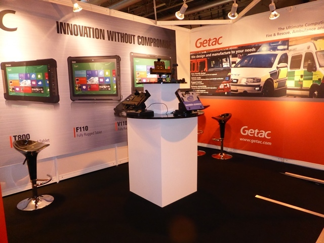 Getac Exhibition Tension Fabric Display