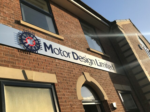 Motor Design Fascia Sign