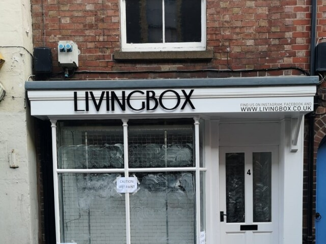 Livingbox Fascia Sign