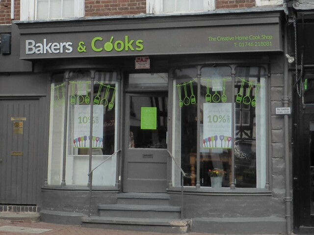 Baker and Cooks Fascia Sign