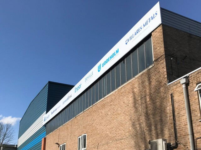 Bohler Voestalpine Fascia Sign