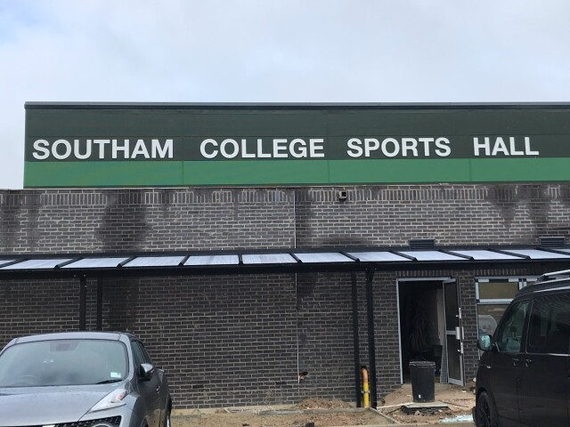 Southam College Flat Letters for Signs