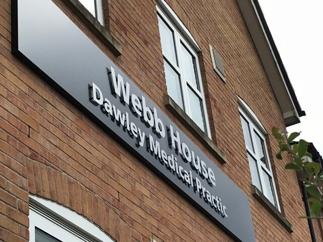 Dawley Medical Practice Flat Letters for Signs