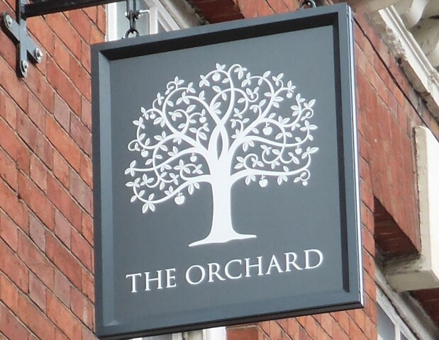 Orchard Hanging Sign