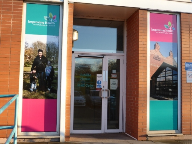 NHS Printed Window Graphics